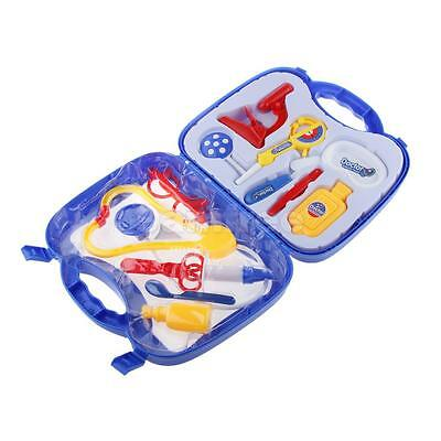 Child Doctor Pretend Play Toys Educational Toy Medical Play Set Gift Blue
