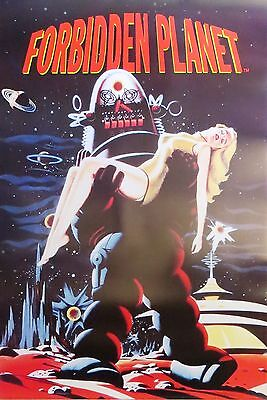 Forbidden Planet-Sci Fi Movie-Licensed POSTER-90cm x 60cm-Brand New