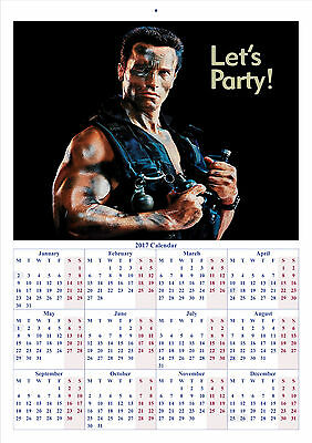 Commando - 2017 A4 CALENDAR **BUY ANY 1 AND GET 1 FREE OFFER**