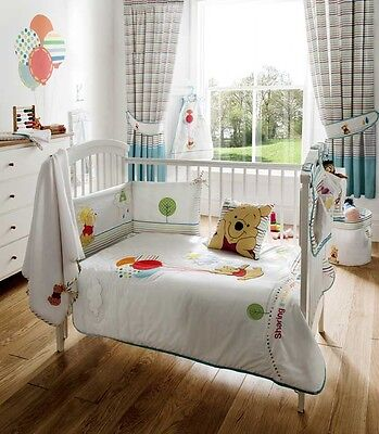 Disney Winnie the Pooh Pooh's Sunny Day Baby Bedroom Bedding Collection