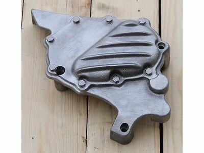 Emd Ribster Raw Cast Ribbed Sprocket Cover For Harley Sportster Xl 04-Up Xl