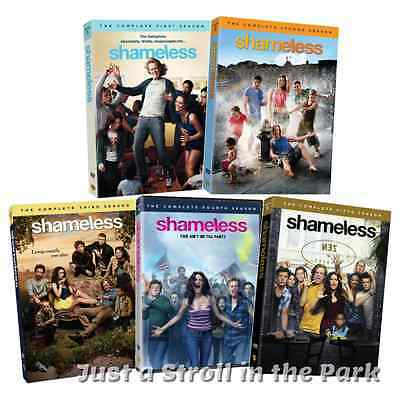 Shameless: TV Series Complete Seasons 1 2 3 4 5 Box / DVD Set(s) NEW!