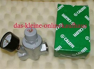 "Caleffi Druckminderer 1/2"" incl.Manometer axial 0-6bar (5798#"