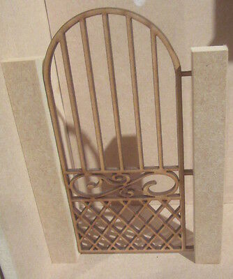 Dolls House DIY    Single Gate  DHD310  Posts not included