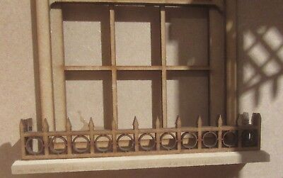 Dolls House DIY   Window box railing  kit  DHD314   Unpainted