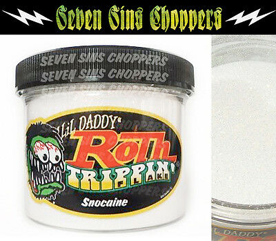 Roth Flake Trippin SNOCAINE Chopper Hotrod Metalflake Sparkle Paint