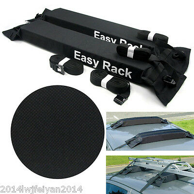 Universal Car SUV Roof Top Carrier Bag Rack Luggage Cargo Soft Easy Rack Travel