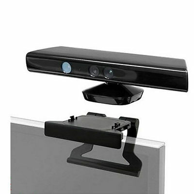 TV Clip Mount Mounting Stand Holder for Microsoft Xbox 360 Kinect Sensor SW