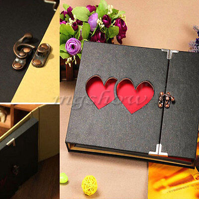 DIY Hollowed Heart Love Photo Image Album Scrapbook Memory Gift Anniversary UK