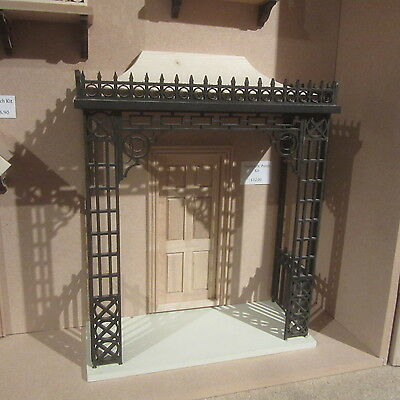 Dolls House 12th scale   Victorian Porch kit    Unpainted    DHD2202