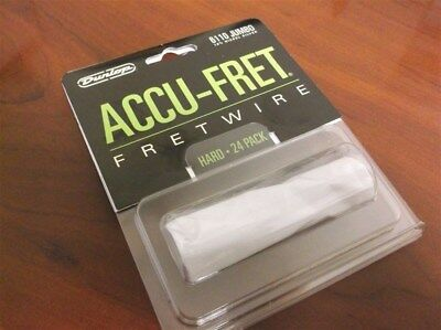 "New - Dunlop Accu-Fret 2-5/8"" Jumbo Fret Wire Set (24) #6110"