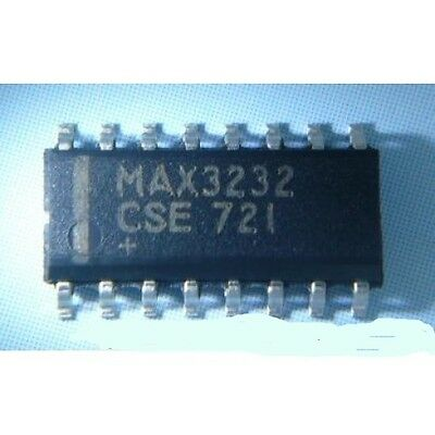 MAX3232CSE Driver line-RS232 RS232 Outputs:2 SO16