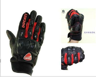 Ducati leather gloves motorcycle gloves racing gloves cycling gloves