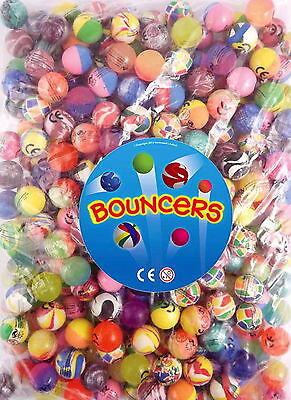 50 Bouncy Jet Balls Birthday Party Loot Bag Toy Fillers Fun For Kids PARTY