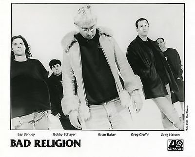 BAD RELIGION 2000 The New America PRESS KIT!!! Photo - Publicity Release
