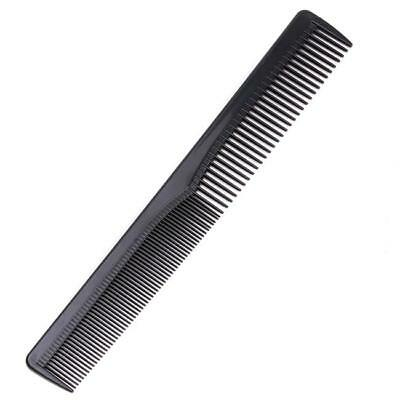 Mens Womens Salon Cutting Hair Tooth Comb Barber Hairdressing Pocket Black 6L