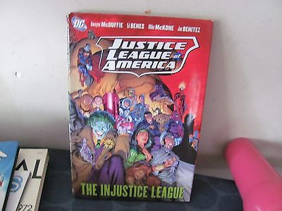 DC Justice League of America Injustice Hardcover TPB PERFECT FOR READING
