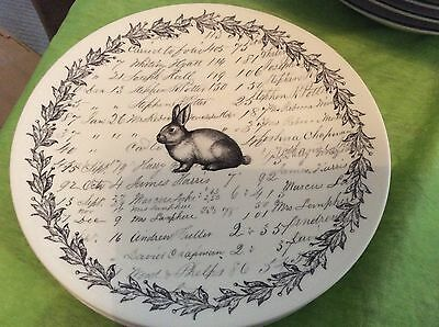 Marks And Spencer's Easter Plate