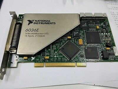 NI PCI-6036E , tested, in good working condition