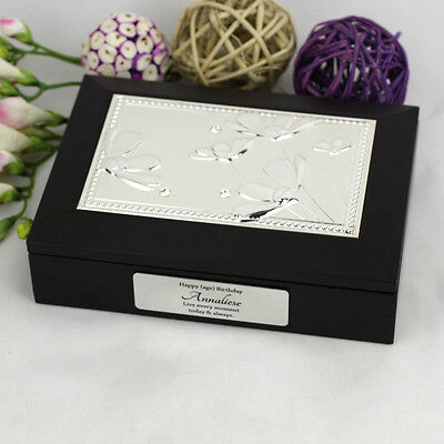 Personalised 18th Birthday Jewellery Box Gift - Add a Name & Message