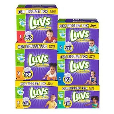 Luvs, Ultra Leakguard Diapers, Size 1, 2, 3, 4, 5, 6 - PICK SIZE & QUANTITY