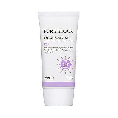 [A'PIEU] Pure Block RSF Sun Roof Cream - 50ml (SPF50+ PA+++)