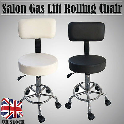 New 2Colors Adjustable Tattoo Beauty Styling Salon Stool Barber Chair Gas Lift