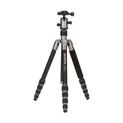 MeFOTO RoadTrip Travel Tripod 5-section Aluminum Tripod with BallHead -Silver