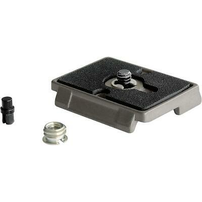 """Manfrotto 200PL RC2-System QR Plate with 1/4""""-20 Screw and 3/8"""" Bushing"""