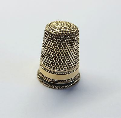 Antique Dutch 14ct Gold Thimble