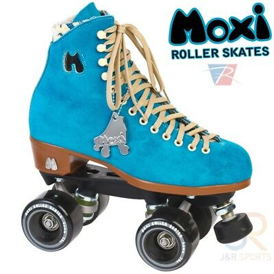 Moxi Quad Skates, Nylon Plate, Pool Blue
