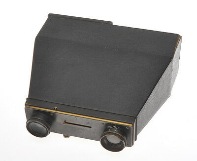 Jules Carpentier, Photo Jumelle twin lens camera c1890s incomplete, sold as is
