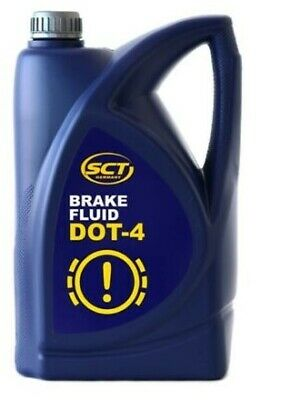 Mannol DOT 4 Quality Synthetic Brake And Clutch Fluid 5 litre SCT Germany
