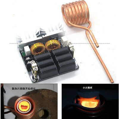 20A 1000W Flyback driver inductive heater Zero Voltage Switching Tesla coil