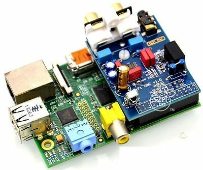 HIFI DAC Audio Sound Card Module I2S interface for Raspberry pi B Version