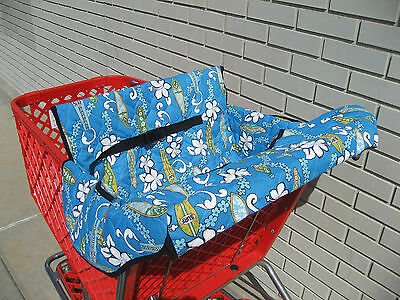 Shopping Cart Cover-Choose from: Incredibles, Pink or Turquoise Hawaiian,  Etc