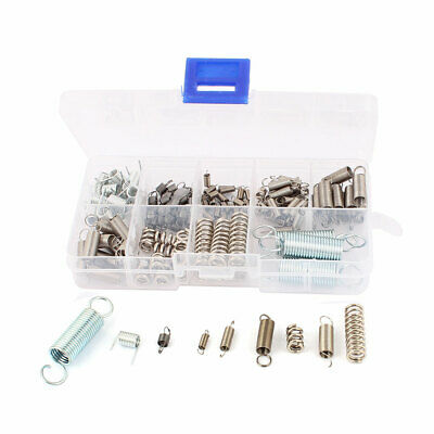 121Pcs Nickel plating Stainless steel Tension Compression Spring Box Packed Kit