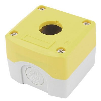 Waterproof 1 Button 22mm Dia. Hole Sealed Push Button Switch Control Station Box