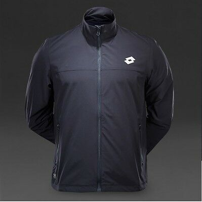 Lotto 1000 Jacket and Pants Warm-up Set Deep Navy/Silver US Size S / EU Size M