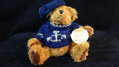 1997 Brass Button Collectables Tango The Sailor Bear of Happiness 9982357