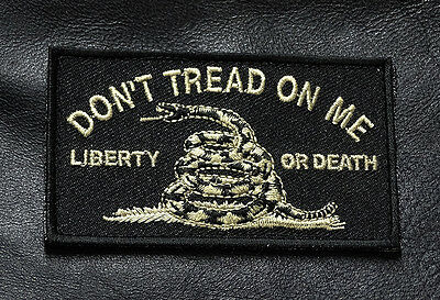 Dont Tread On Me Liberty Or Death Tactical Homeland Hook Patch By Miltacusa