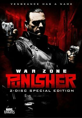 USED (VG) Punisher: War Zone (Two-Disc Special Edition) (2009) (DVD)