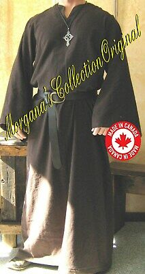 Medieval Celtic Viking Monk Wizard Robe