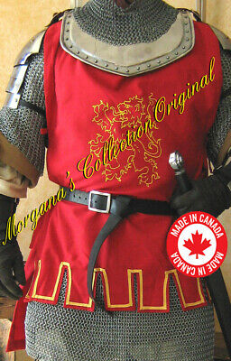Medieval Knight Men-at-arms SCA Short Surcoat Deluxe