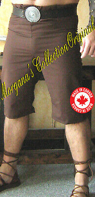 Medieval Celtic Viking Pirate Pants knee length