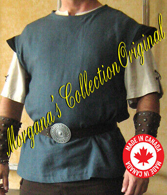 Medieval Celtic Viking Sleeveless Shirt with Wings
