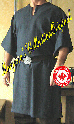 Medieval Celtic Viking Norman Shirt Mid-Arms Sleeves