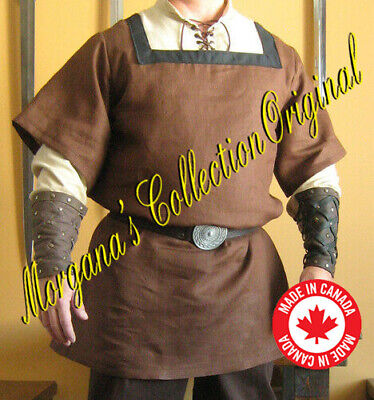 Medieval Knight Noble Celtic Surcoat with Square Collar