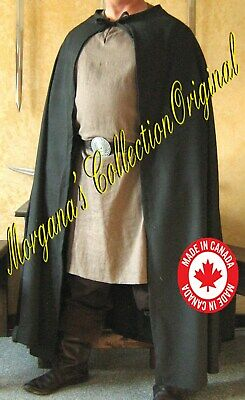 Medieval Celtic Viking Cloak Cape.