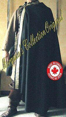 Medieval Celtic Norman Lord Cloak Deluxe
